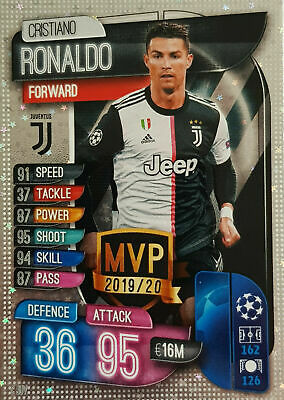 Match Attax Champions Europa League 2019 2020 19 20 Man Of The Match Mvp Cards