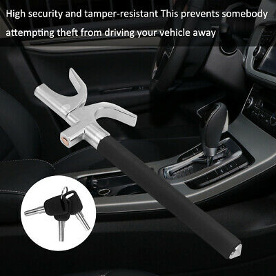 Car Steering Wheel Lock Universal Lock Anti-Theft Locking Duty Safety Hammer