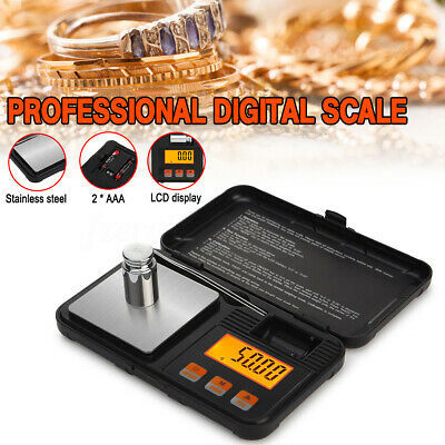 Pocket Digital Scales 0.01g 200g Gold Jewellery Weighing Mini LCD Electronic
