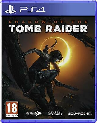 Shadow of the Tomb Raider For PS4 (New & Sealed)
