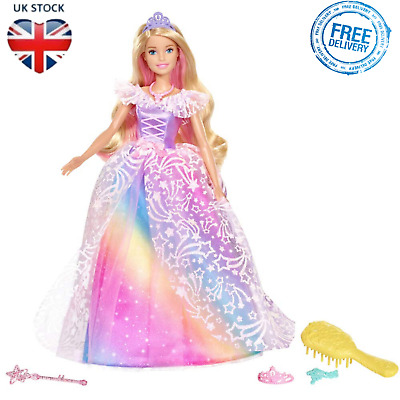 Princess Doll Kids Toy Barbie Figure Dreamtopia Royal Ball Girls Christmas Gift