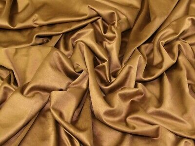 Double Sided Stretch Faux Suede Dress Fabric MV-M652-Navy-M