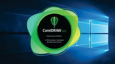 CorelDRAW Graphics Suite 2019; S.N° Key Activated; Windows 32/64; Fast Delivery