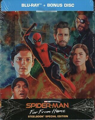 Spider-Man. Far from home (2019) s.e. 2 Blu Ray metal box