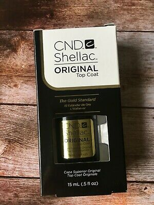 CND Shellac Top coat 15 ml Big Size NEU 100 % Original Made in USA
