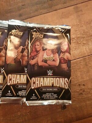 Topps Wwe Champions 2019 Trading Cards X 24 Packs