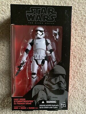 Hasbro Star Wars The Black Series 6-Inch First Order Stormtrooper Storm Trooper