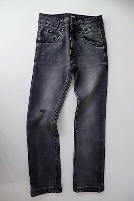 Hugo Boss Jeans Skinny Fit Age 6 Years Size 116cm Distressed VGC Boys Grey