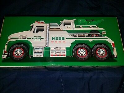 2019 Hess Holiday Toy Tow Truck Rescue Team New In Box