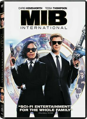 Men In Black International (DVD, 2019) New and Sealed -  Free Shipping