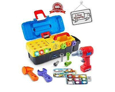 Toddler Kids Toolbox Playset Educational Toys For Boys and Girls for ages 2 to 5