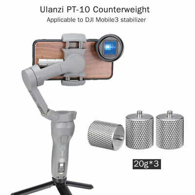 Ulanzi PT-10 Stabilizer Counterweight Gimbal Accessories For DJI OSMO Mobile 3