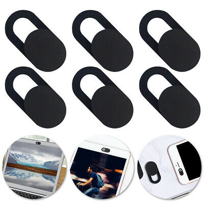 6Pcs Webcam Shutter Slider Privacy Camera Cover Sticker Ipad Phone Laptop Mac AU