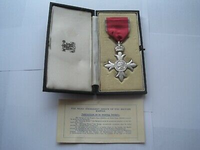 Most Excellent Order Of The British Empire Medal,Mbe,Royal Mint Case