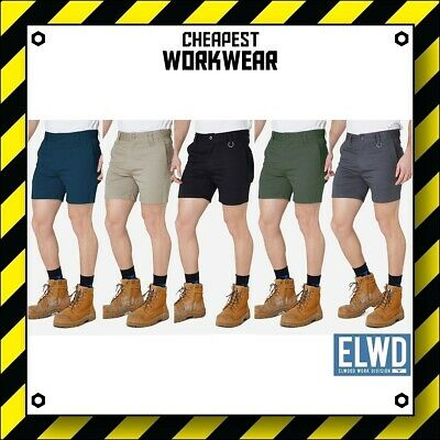 ELWD | Elwood Workwear | Mens Work Shorts (Navy, Khaki, Black, Army, Char) FXD