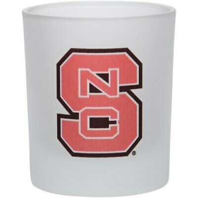 NC State Wolfpack 8.45oz. Frosted Rocks Glass