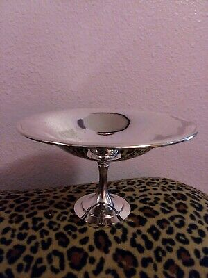 Vintage Wm. A Rogers Candy Dish Silver pedestal dish Silver Plated
