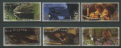New Zealand 2001 Lord Of The Rings Set Of 6 Unmounted Mint, Mnh