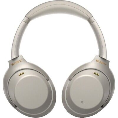 Sony WH-1000XM3 Wireless Noise Canceling Headphones New Overhead - Silver
