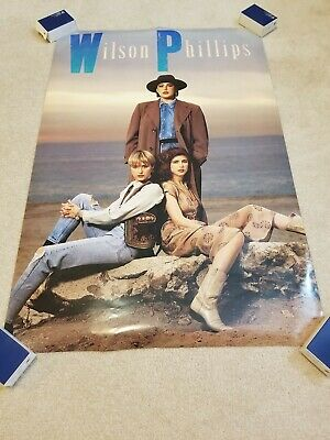 1990 Wilson Phillips Promotional Store Display Poster 24 x 36