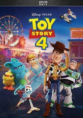 Toy Story 4 (DVD, 2019)  New & Sealed  >>Free Fast Shipping>>>