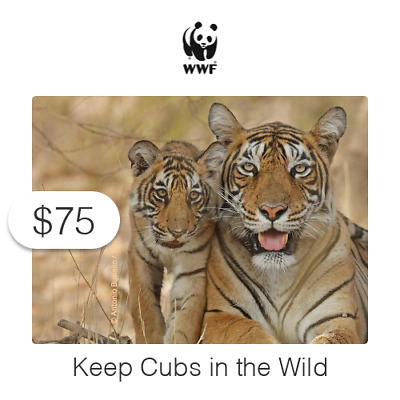 $75 Charitable Donation For: Keep Cubs in the Wild