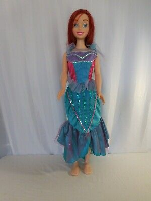 Disney's The Little Mermaid Ariel Life Size Doll 36 inches Dressed