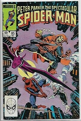 Peter Parker The Spectacular Spider-man #85 FN/VFN (1983) Marvel Comics