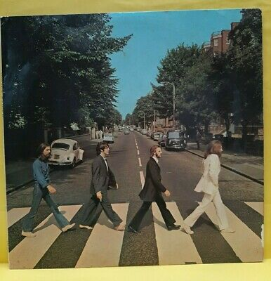 THE BEATLES.'ABBEY ROAD' vinyl 1969. UK early pressing with  no 'her majesty'