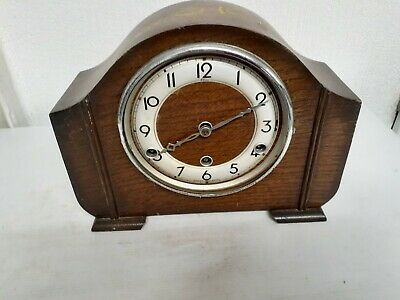 Vintage Elco Westminster Chime Mantel Clock