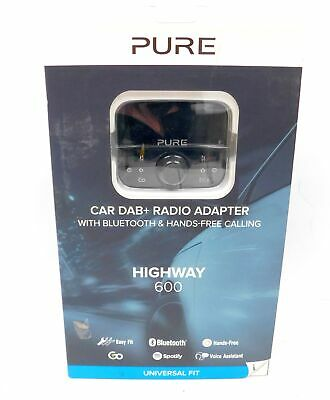 PURE Highway 600 In-Car DAB+/FM Bluetooth Adapter With Spotify BOXED 9 - Y200
