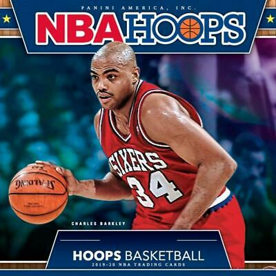 2019-20 NBA Hoops Panini Basketball Trading Cards 1-150 Pick From List