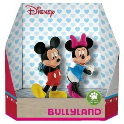 Disney Gift Box with 2 Figures Micky Christmas 8-10 cm Bullyland Mini