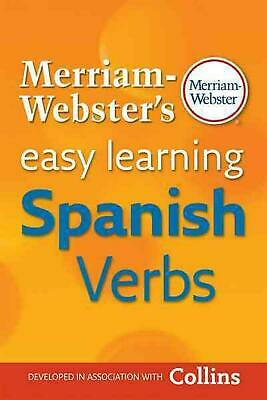 Merriam-Webster's Easy Learning Spanish Verbs by Merriam Webster (English) Paper