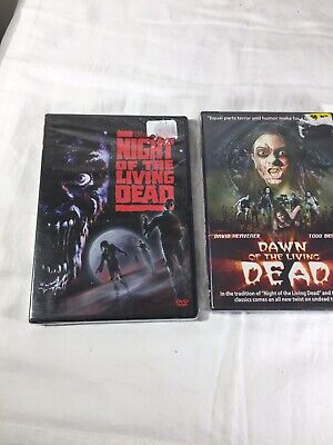 Night of the Living Dead (DVD, 1990) zombie remake Dawn Of The Living Dead  NEW