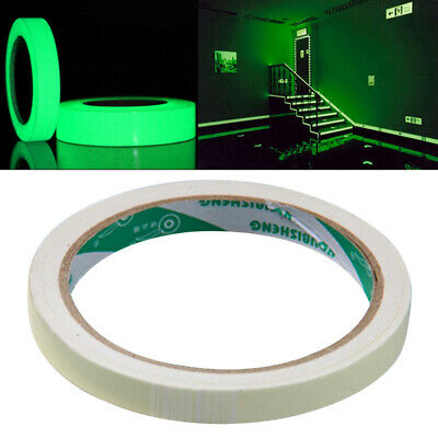 3/10M Self-adhesive Luminous Tape Glow in The Dark Safety Stage Home Z0U3