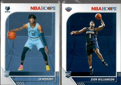 2019-20 NBA Hoops Rookie RC #201-259 & 295-300 - You Pick From A List