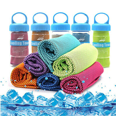 Microfiber Sport Towel Rapid Cooling Ice Face Towel Quick Dry Beach Towel Fit