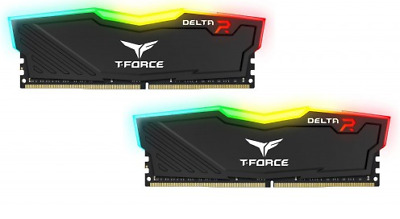 Team Group Delta RGB 32GB (2x16GB) DIMM DDR4 3200MHz DRAM Black