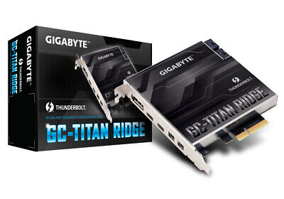 Gigabyte GC-TITAN RIDGE interface cards/adapter Mini