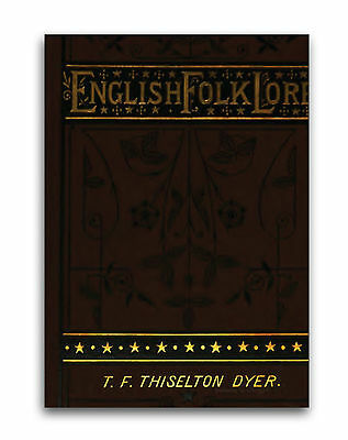 Ancient English Folklore - 130 Rare Books on DVD  - Myths Legends Gods Heroes C0