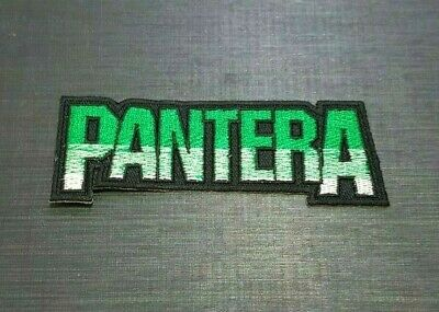 PANTERA ROCK MUSIC HEAVY METAL PUNK BAND POP Embroidered Patch Iron On Sew Logo