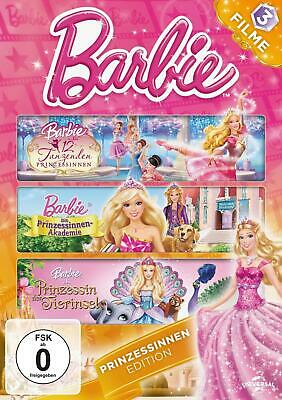 Barbie - Prinzessinnen Edition DVD 3 DVDs Deutsch 2019