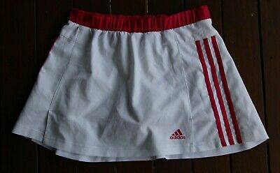 Adidas Response Climalite White and Pink Skort (Size: Girl's Age 11-12 Years)