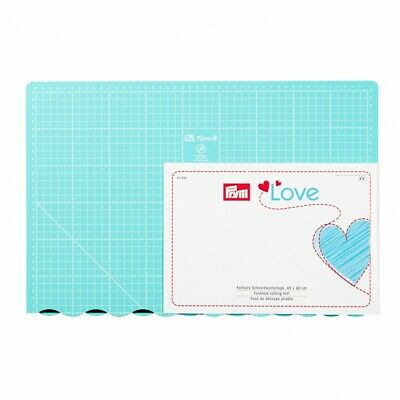 Prym Love Foldable Cutting Mat - Turquoise