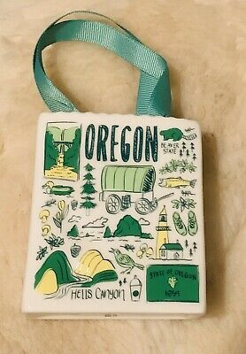NEW Adorable Starbucks Holiday 2019 Oregon Been There Ornament  Gift Card Holder