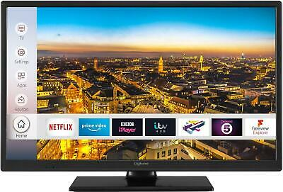 """Digihome 24HDCNTDP 24"""" Smart TV with DTS & Freeview Play, Netflix app, HDMI x 2"""