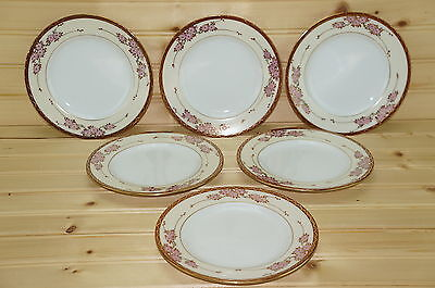 Soko Three Cherries (6) Dessert or Bread & Butter Plates, 6 3/8""