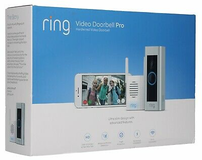 Ring 1080p Video Doorbell Pro and Chime Pro Bundle