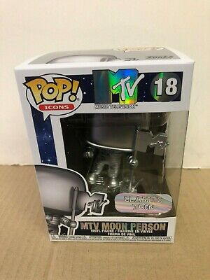 POP ICONS: MTV-Moon Person Funko POP Vinyl NIB IN STOCK